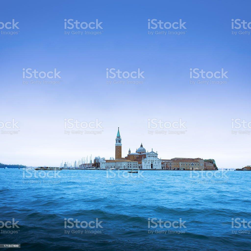 San Giorgio Maggiore. Venice - Italy. royalty-free stock photo
