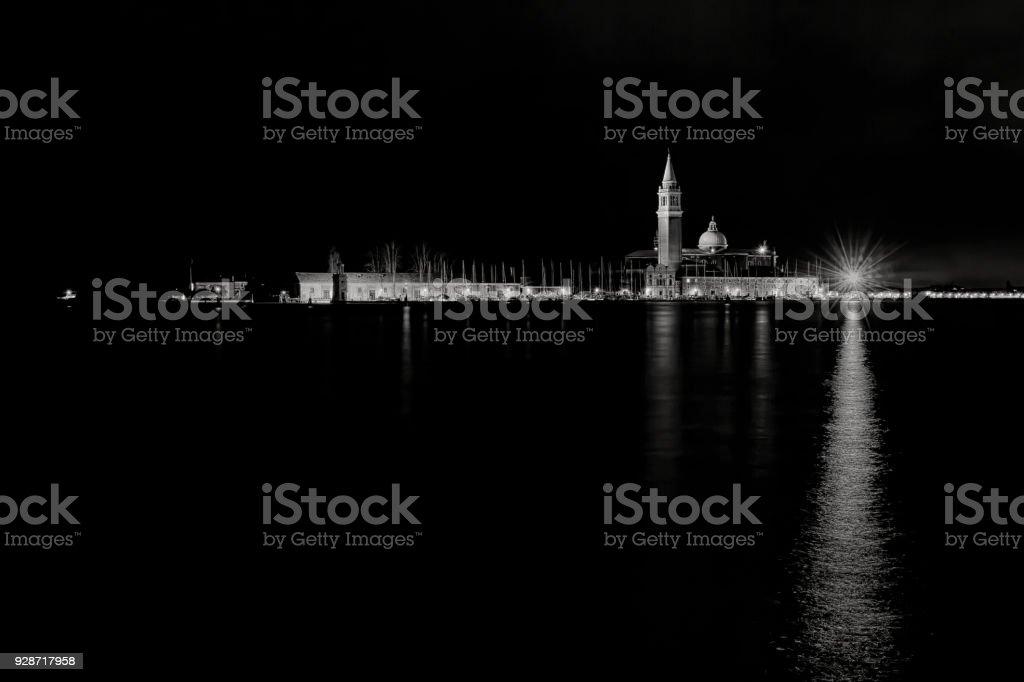 San Giorgio Maggiore view (Venice) stock photo
