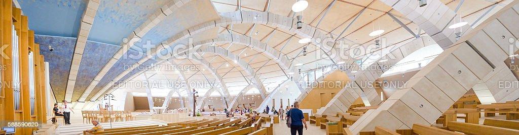 San Giovanni Rotondo Church By Renzo Piano Fotografie