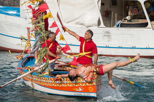 San Giovanni traditional parade celebration