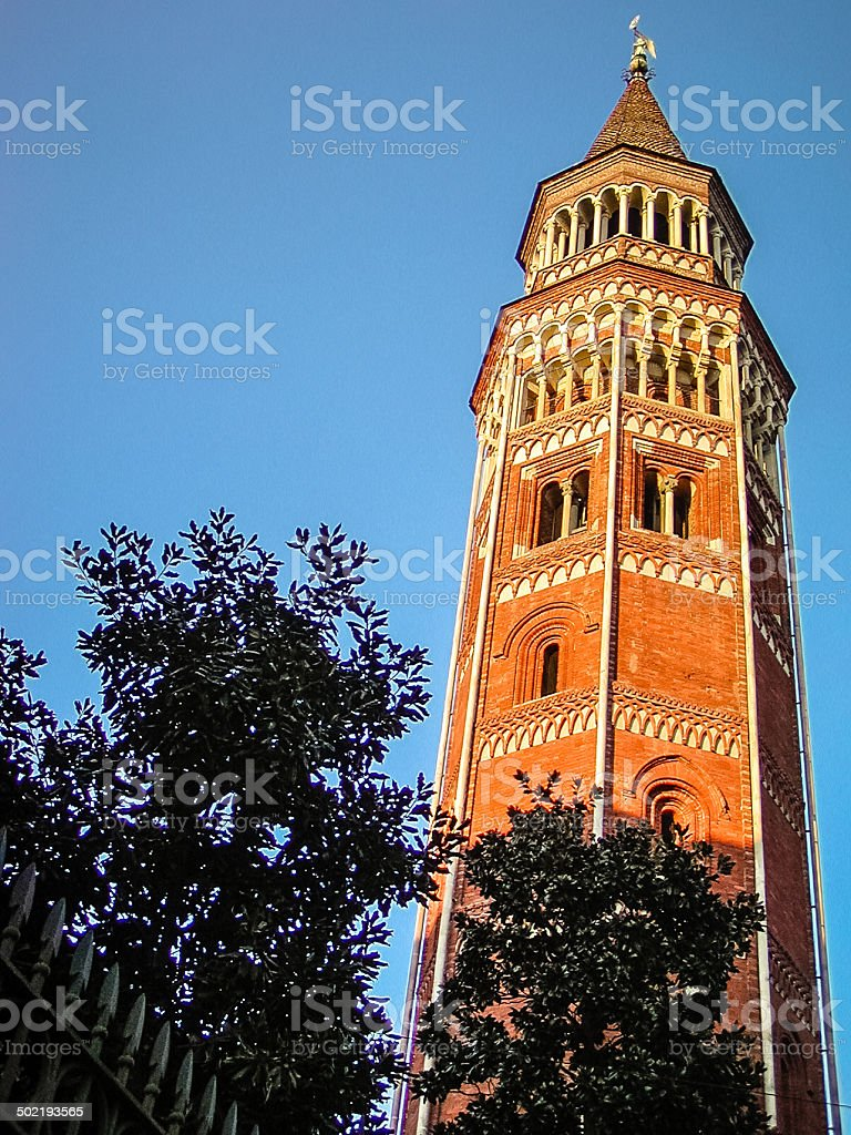 San Gottardo Bell Tower royalty-free stock photo
