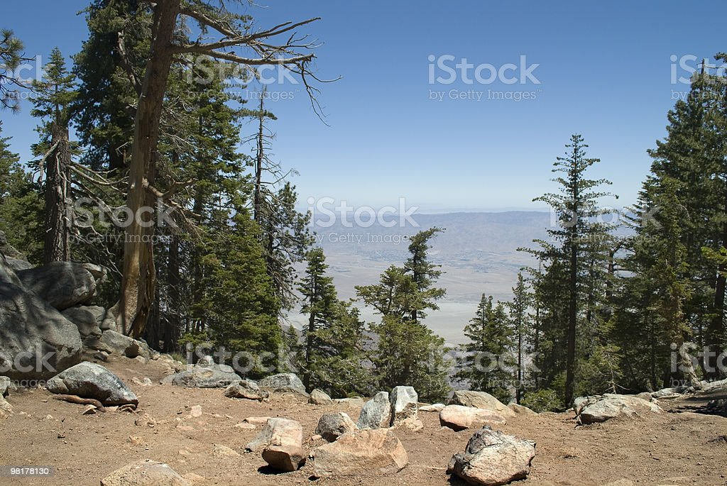 San Jacinto Park View royalty-free stock photo