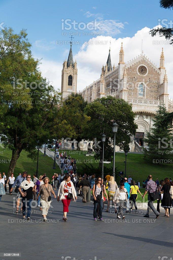San Jerónimo el Real, Madrid, Spain stock photo