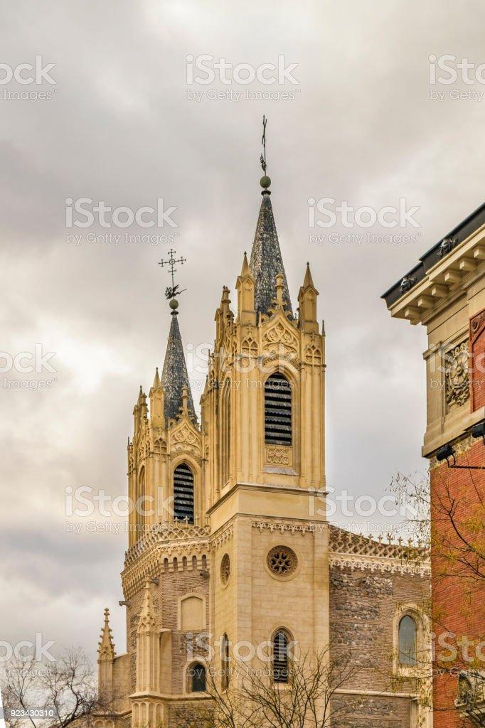 San Jeronimo El Real Church, Madrid, Spain stock photo
