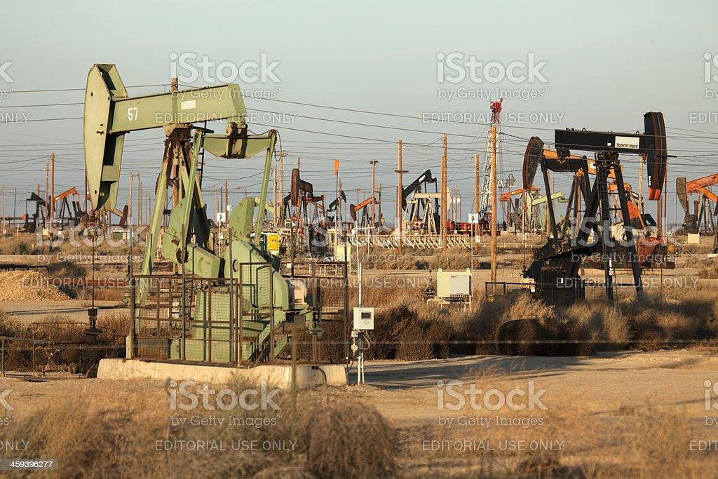 San Joaquin Valley Pozzi Petroliferi Trivelle Lost Hills California