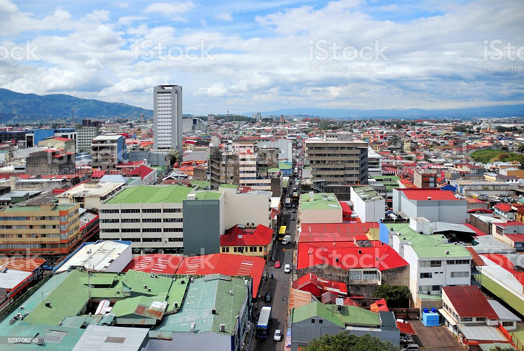 Photo de san jos au costa rica paysage urbain image for La fenetre san jose