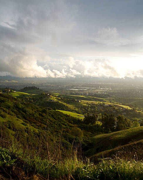 San Jose und Hills nach dem Sturm – Foto