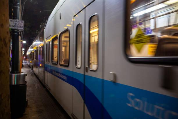 San Jose at night - foto stock
