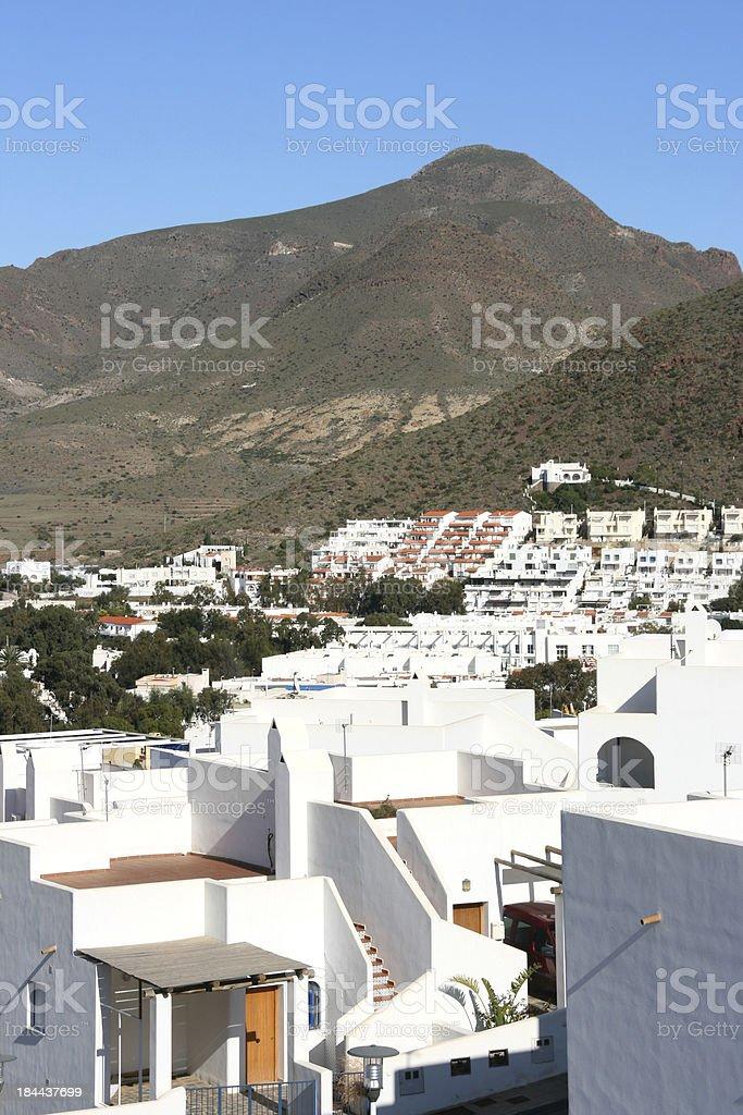 San Jose, Cabo de Gata royalty-free stock photo