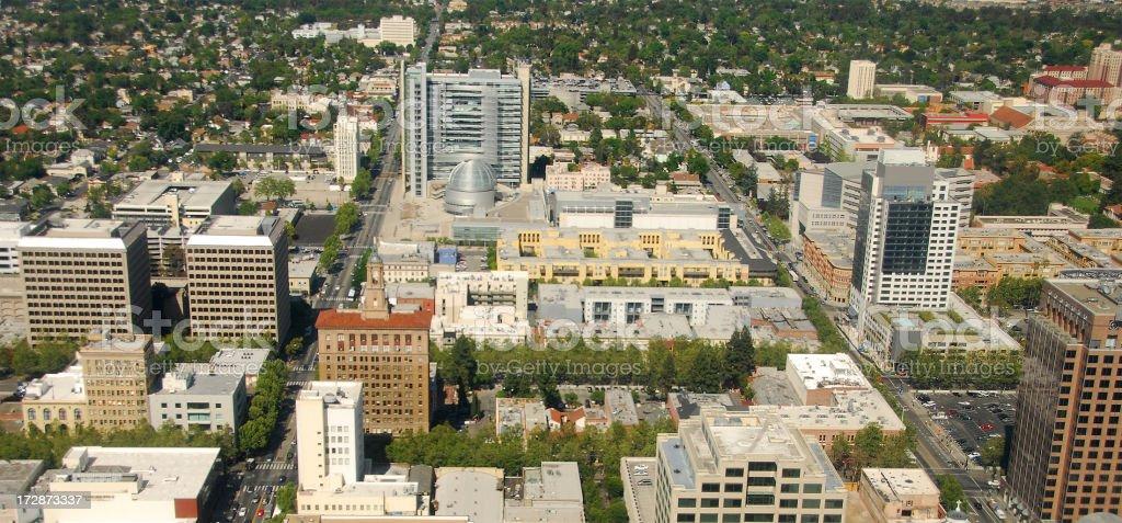 San Jose Downtown royalty-free stock photo