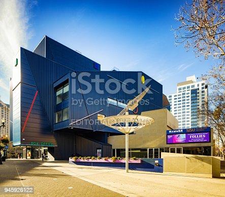 istock San Jose state university Hammer theater complex 945926122