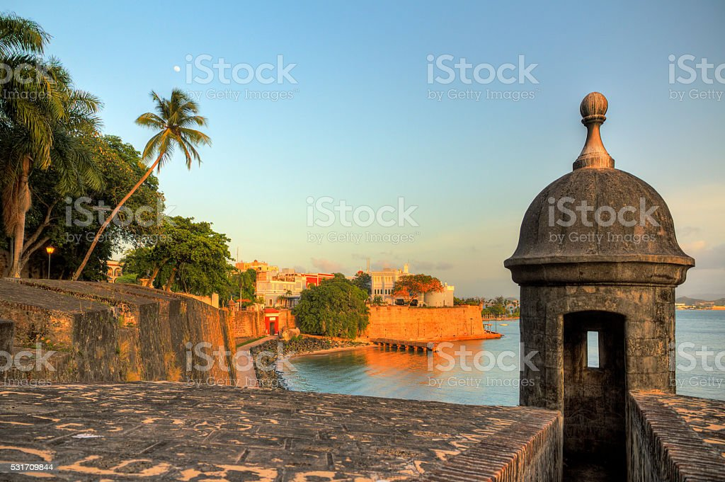 San Juan cityscape stock photo