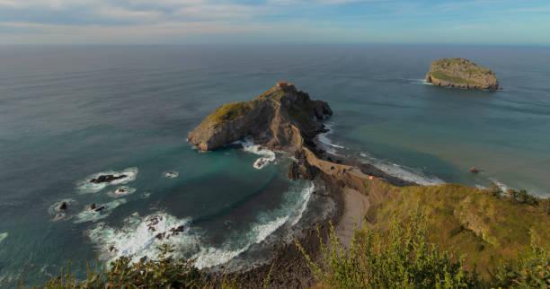 San Juan de Gaztelugatxe stock photo
