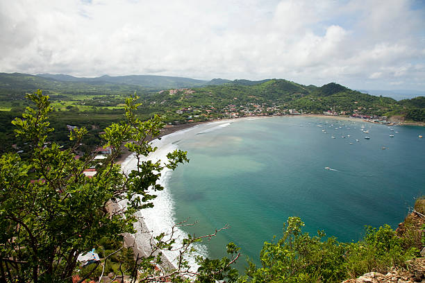 san juan del sur, nicaragua-strand - nicaragua stock-fotos und bilder