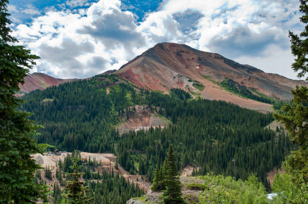 San Juan National Forest,  Colorado stock photo
