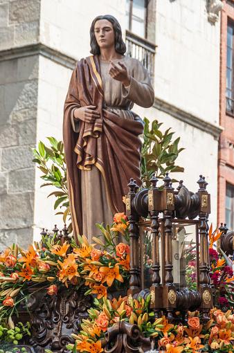 San Juan. Procession Holy Friday. Leon, Spain.