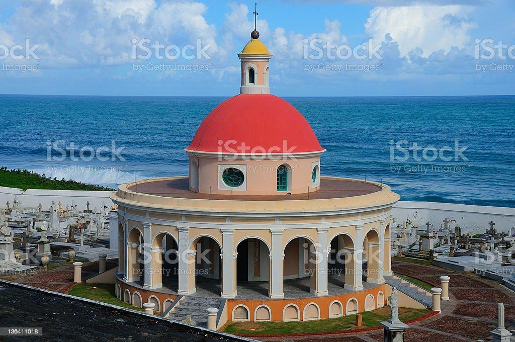 San Juan, Puerto Rico Dome of Ponce de Leon royalty-free stock photo