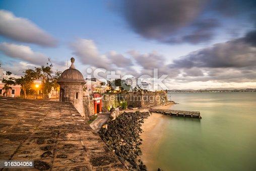 Puerto Rico, San Juan, Old San Juan, Morro Castle - Puerto Rico, Caribbean
