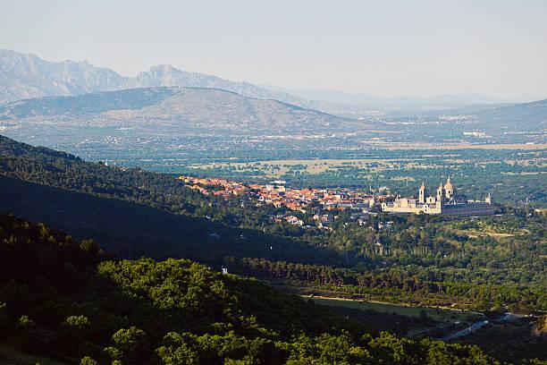 San Lorenzo de El Escorial, Spain stock photo