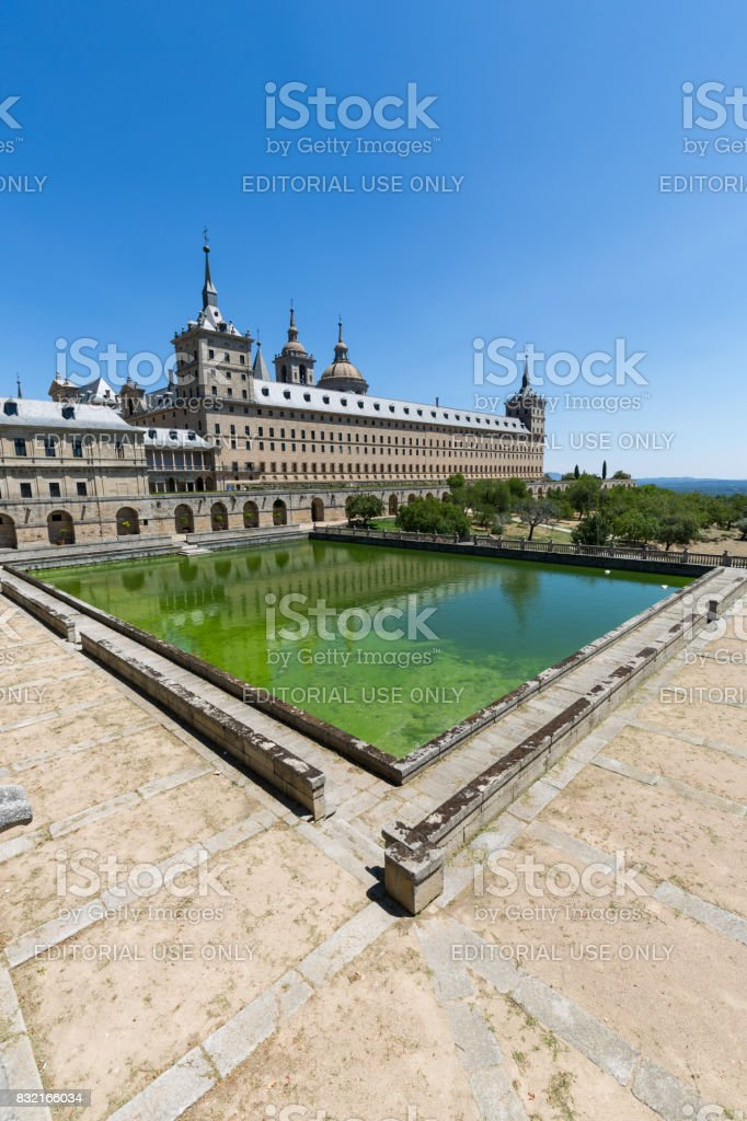 San Lorenzo de El Escorial - Spain - Unesco - foto stock