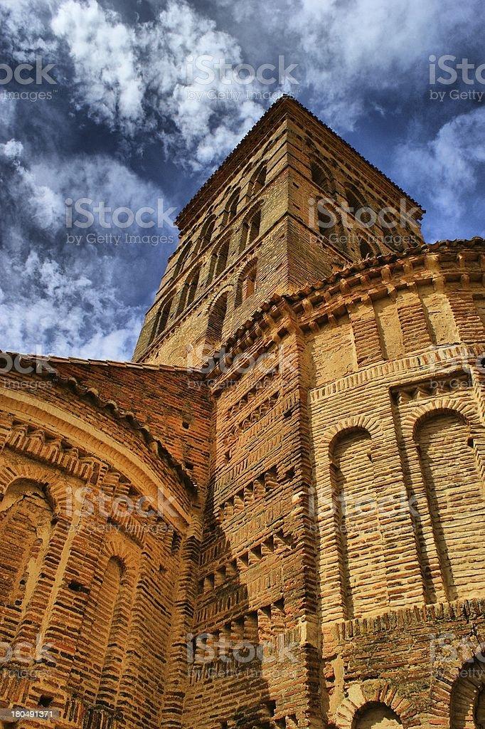 San Lorenzo de Sahagun church royalty-free stock photo