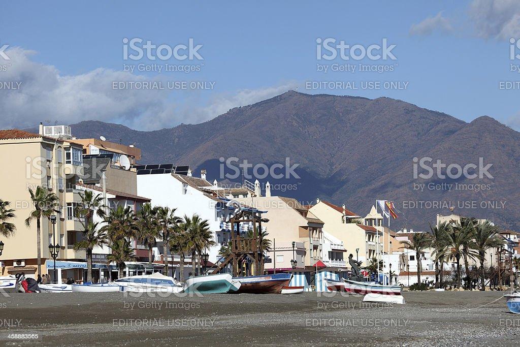 San Luis de Sabinillas, Spain royalty-free stock photo