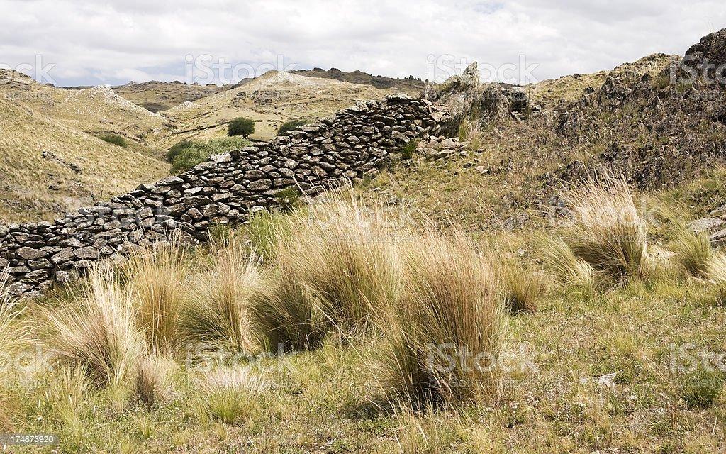 San Luis landscape royalty-free stock photo