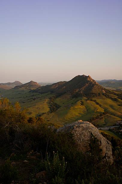 san luis obispo's seven sisters - central coast california stock photos and pictures