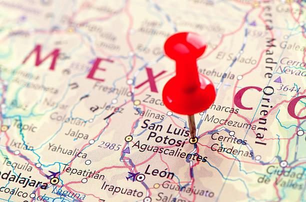 San Luis Potosi map Focus on San Luis Potosi  on the Map. Source: