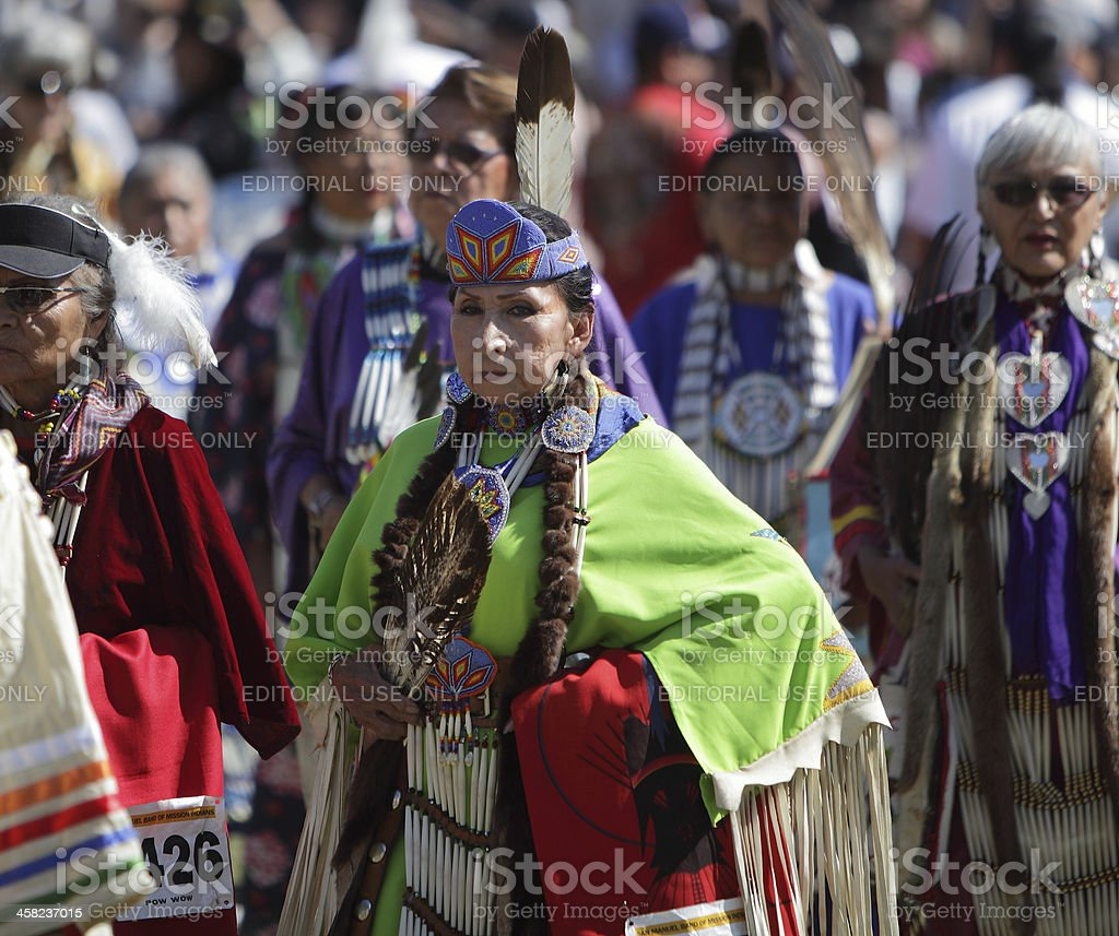 San Manuel Band of Indians Annual Pow Wow royalty-free stock photo