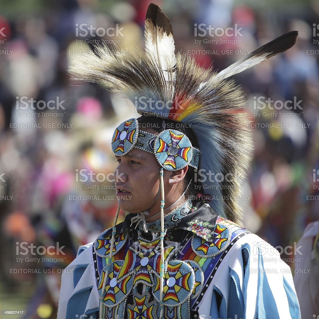San Manuel Band of Indians Annual Pow Wow stock photo