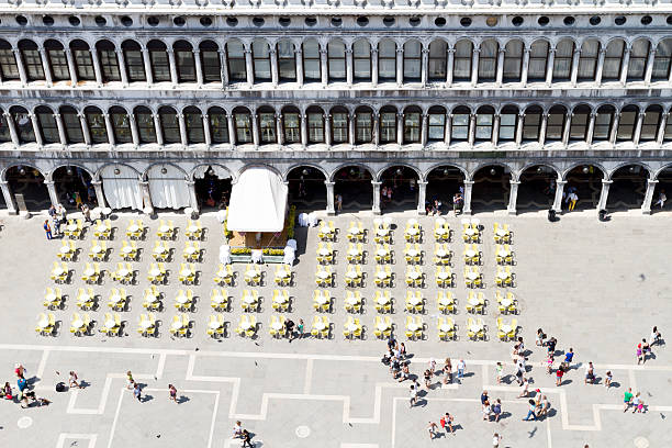 San marco Luftbild von Museo Correr – Foto