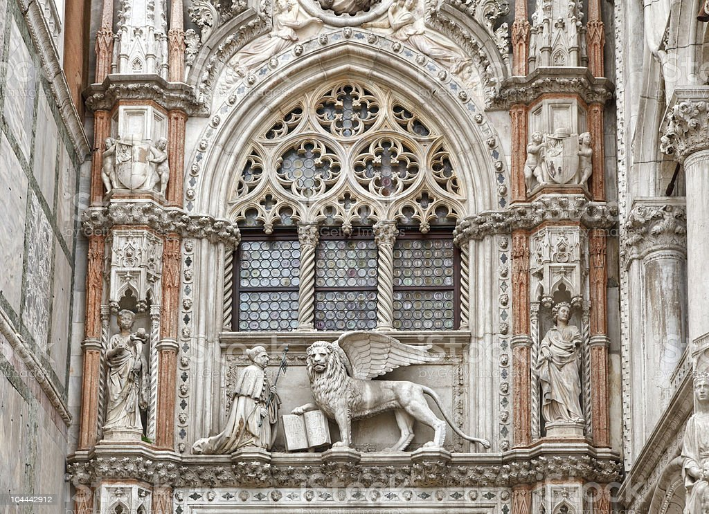San Marco cathedral stock photo
