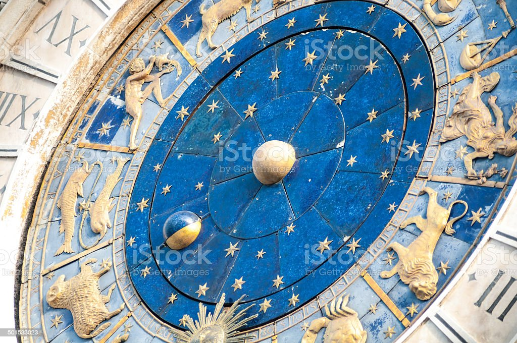 San Marco Clock - Stock Image royalty-free stock photo
