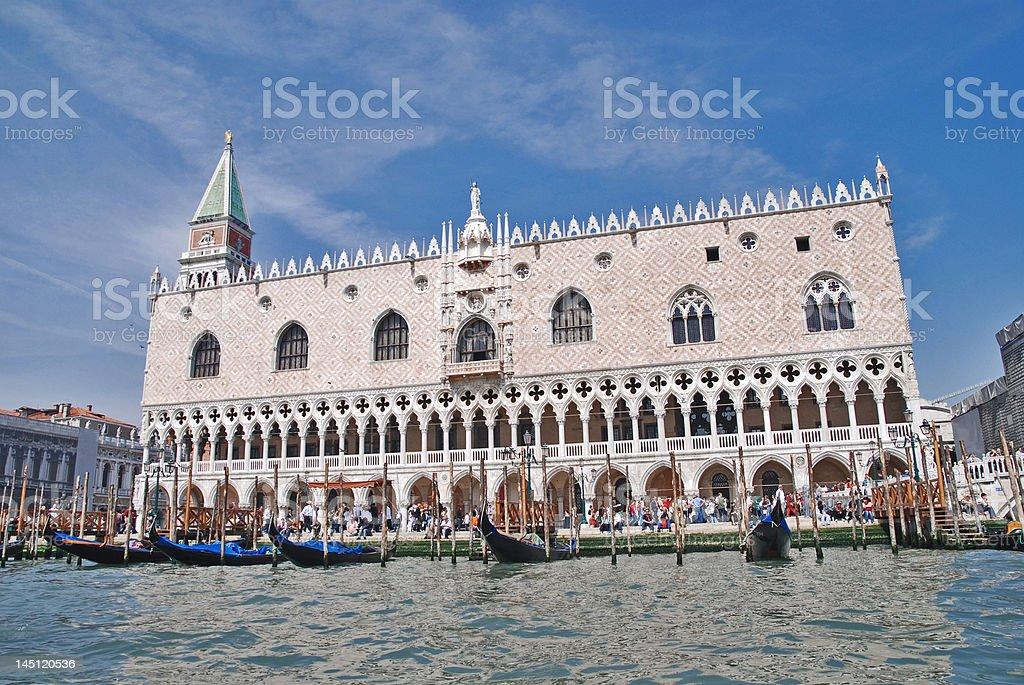 San Marco Palace, Venice, Italy stock photo