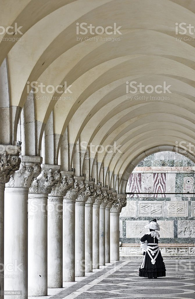 San Marco's Columns, venice. royalty-free stock photo