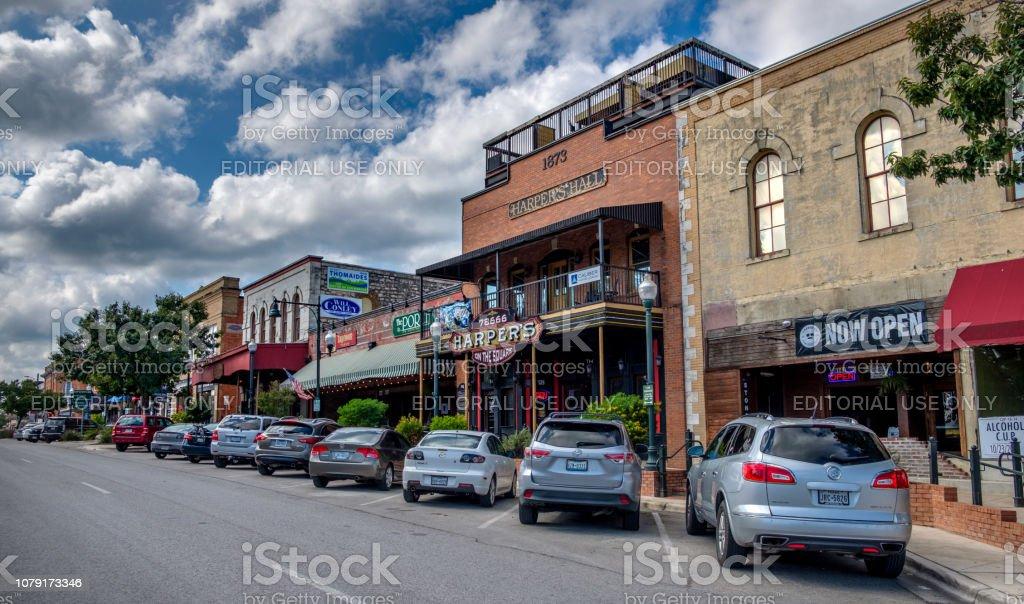 San Marcos, Texas stock photo