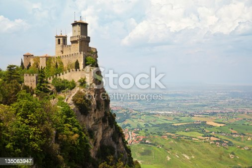 San Marino Castle, also known as Guaita or Rocca or First Tower.