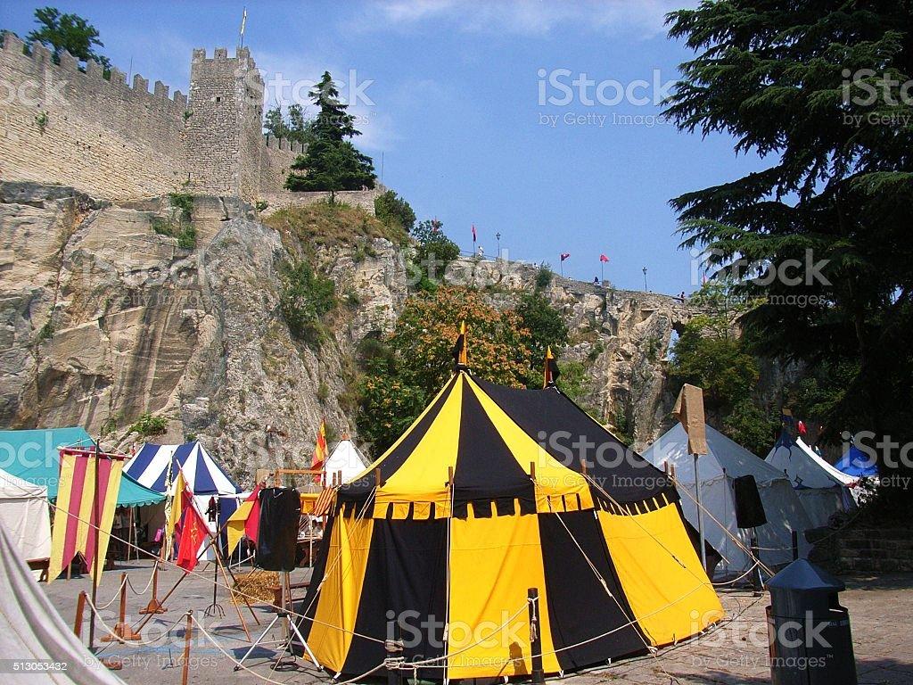 San Marino - Manifestazione folkloristica stock photo