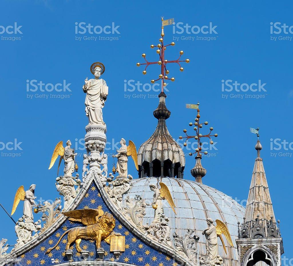 San Marko cathedral, Venice stock photo