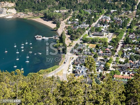 istock San Martin de los Andes from above, Patagonia Argentina 1017224306