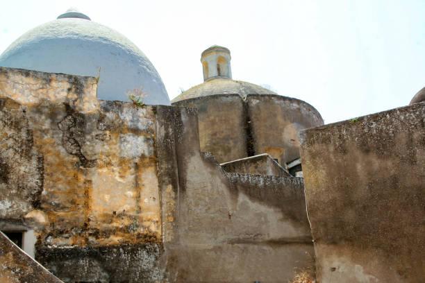 san michele abbey in procida - procida foto e immagini stock