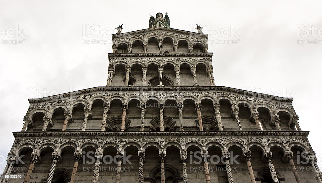 San Michele in Foro royalty-free stock photo