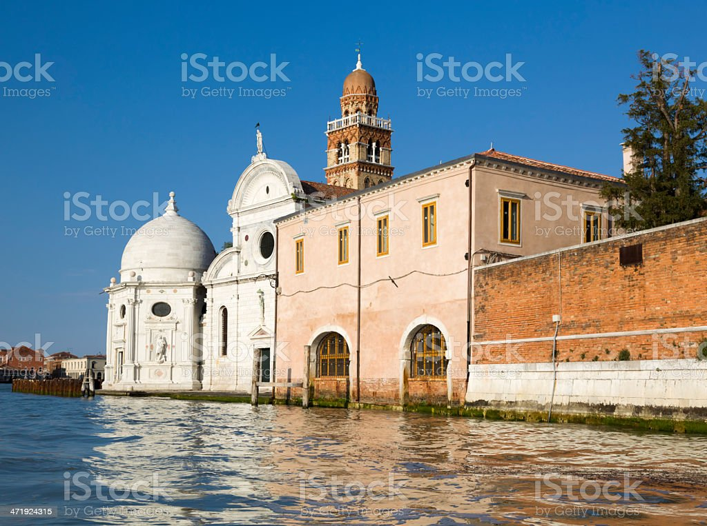 San Michele Isola church in Venice, Italy royalty-free stock photo