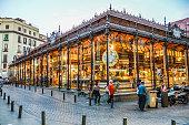 San Migeul Market in Madrid, Spain