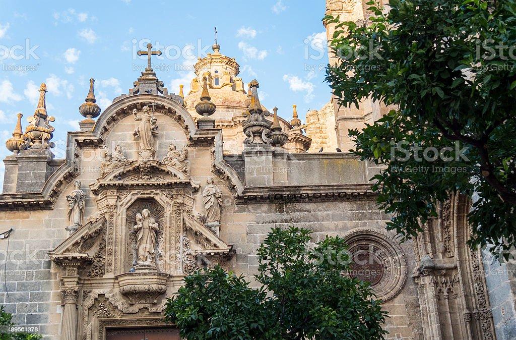 San Miguel church, Jerez de la Frontera, Spain stock photo