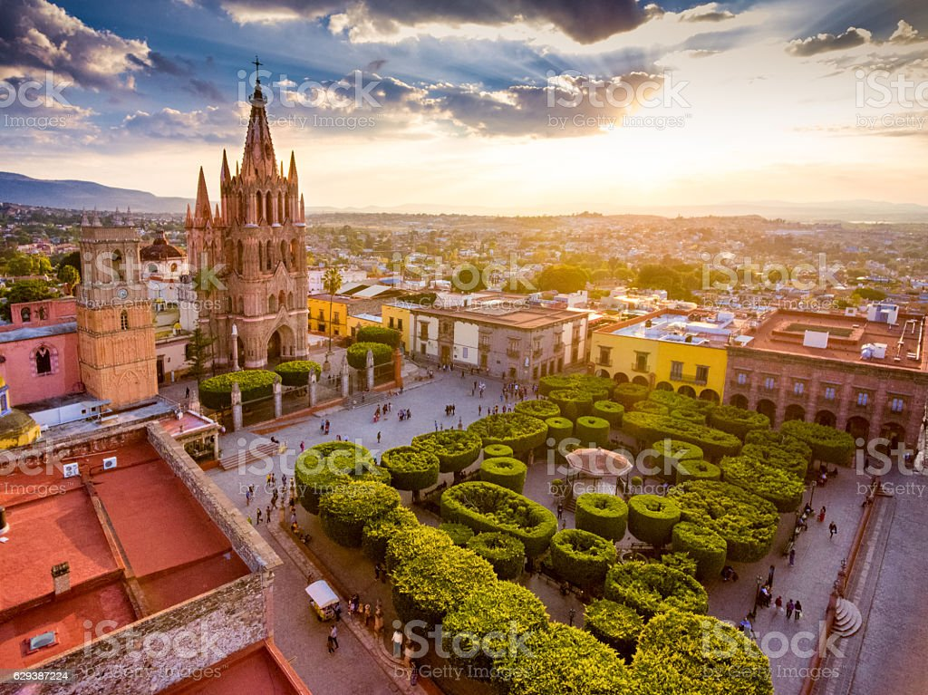 San Miguel de Allende Mexico stock photo