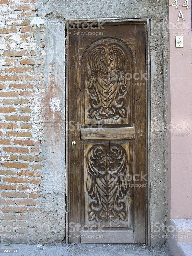 San Miguel Door royalty-free stock photo