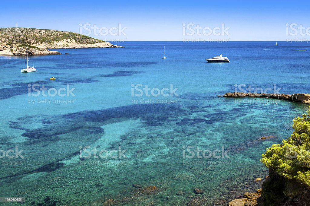 San Miguel - Ibiza - Balearic Islands - Spain stock photo