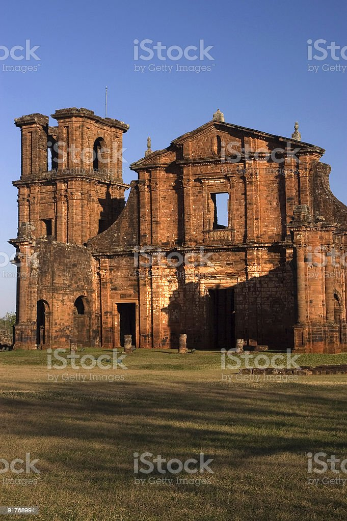 San Miguel Mission royalty-free stock photo